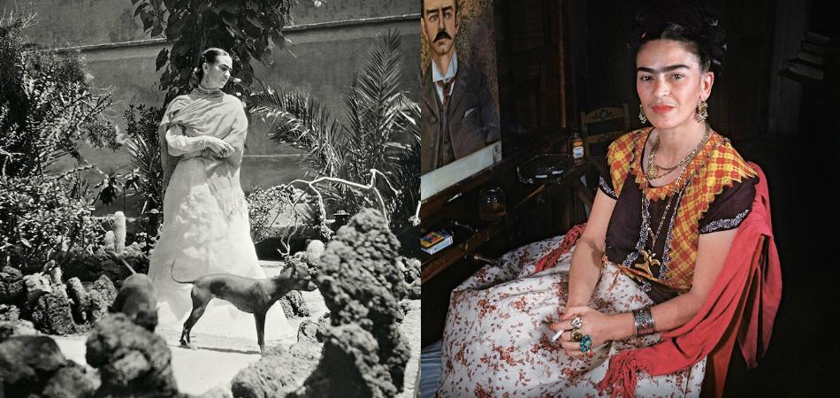 Veja raras fotos de Frida Kahlo em seu último ano de vida 1