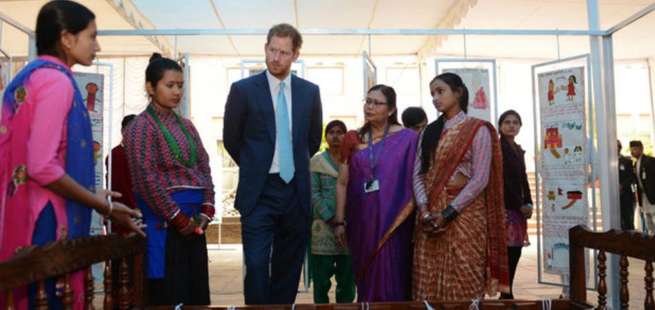 Príncipe Harry pressiona fim do casamento infantil no Nepal 1