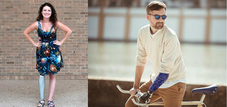 Empresa cria linha de capas personalizadas para próteses de braços e pernas 1