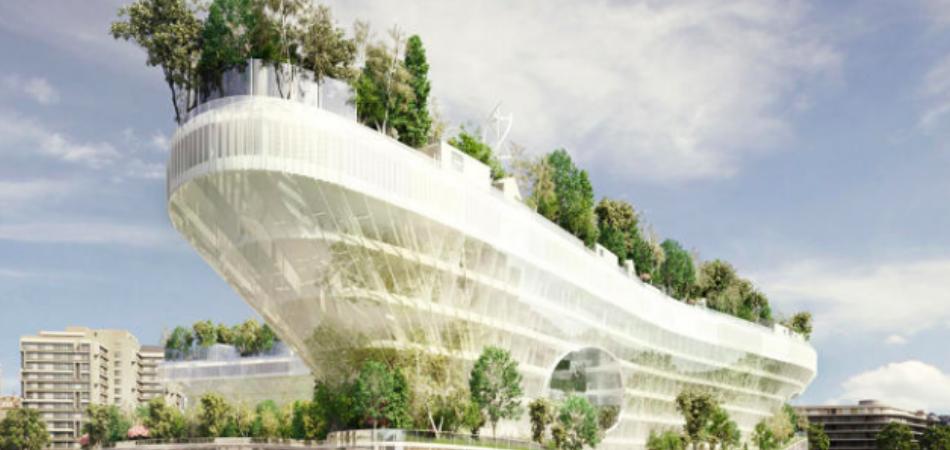 Paris vai ganhar primeira aldeia flutuante no meio da natureza 2