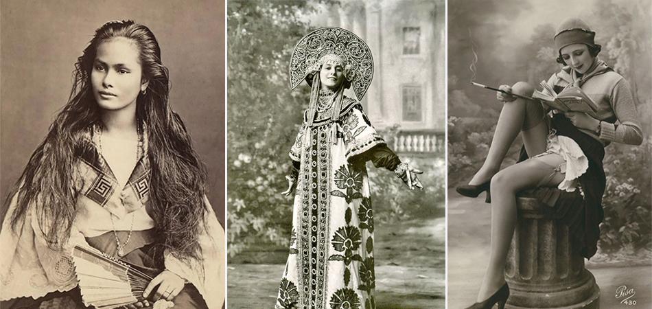 A diversidade da beleza feminina em postais do início do século 20 1