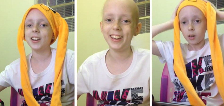 Menina que venceu o câncer faz canal no Youtube e sonha em ter sucesso 1