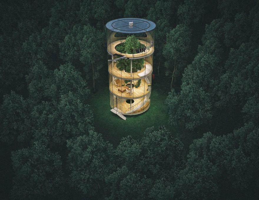 casa-cristal-tubular-arbol-aibek-almassov-3
