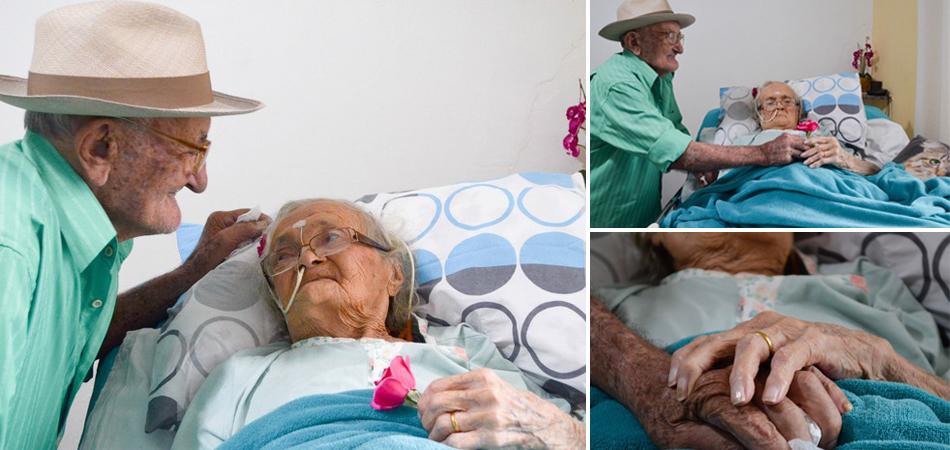 Idosa com Alzheimer só reconhece marido com quem é casada há 80 anos 1
