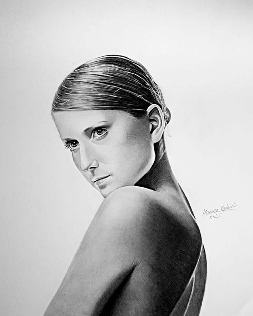 dibujante-realista-sin-brazos-mariusz-kedzierski-2