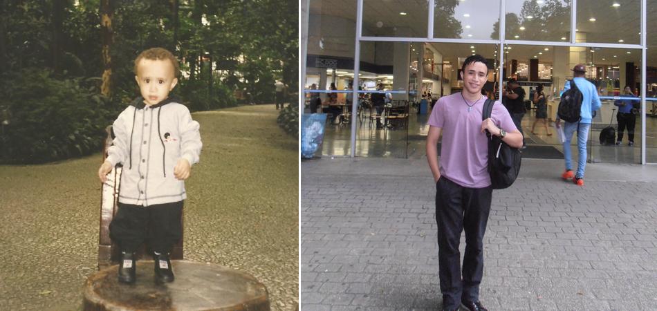 Jovem supera infância difícil e realiza sonho de entrar na universidade 1