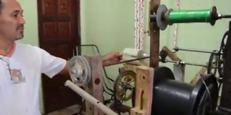 Inventor cria máquina que transforma garrafas pet em barbante e vassouras 3