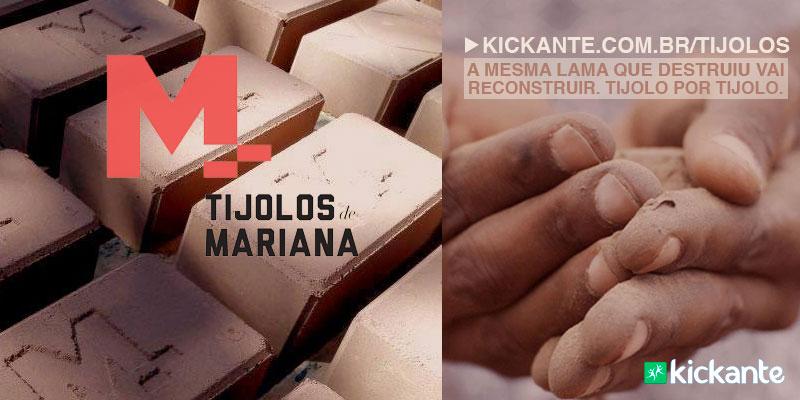 Projeto transforma lama que destruiu Mariana em tijolos para reconstruir a região 1