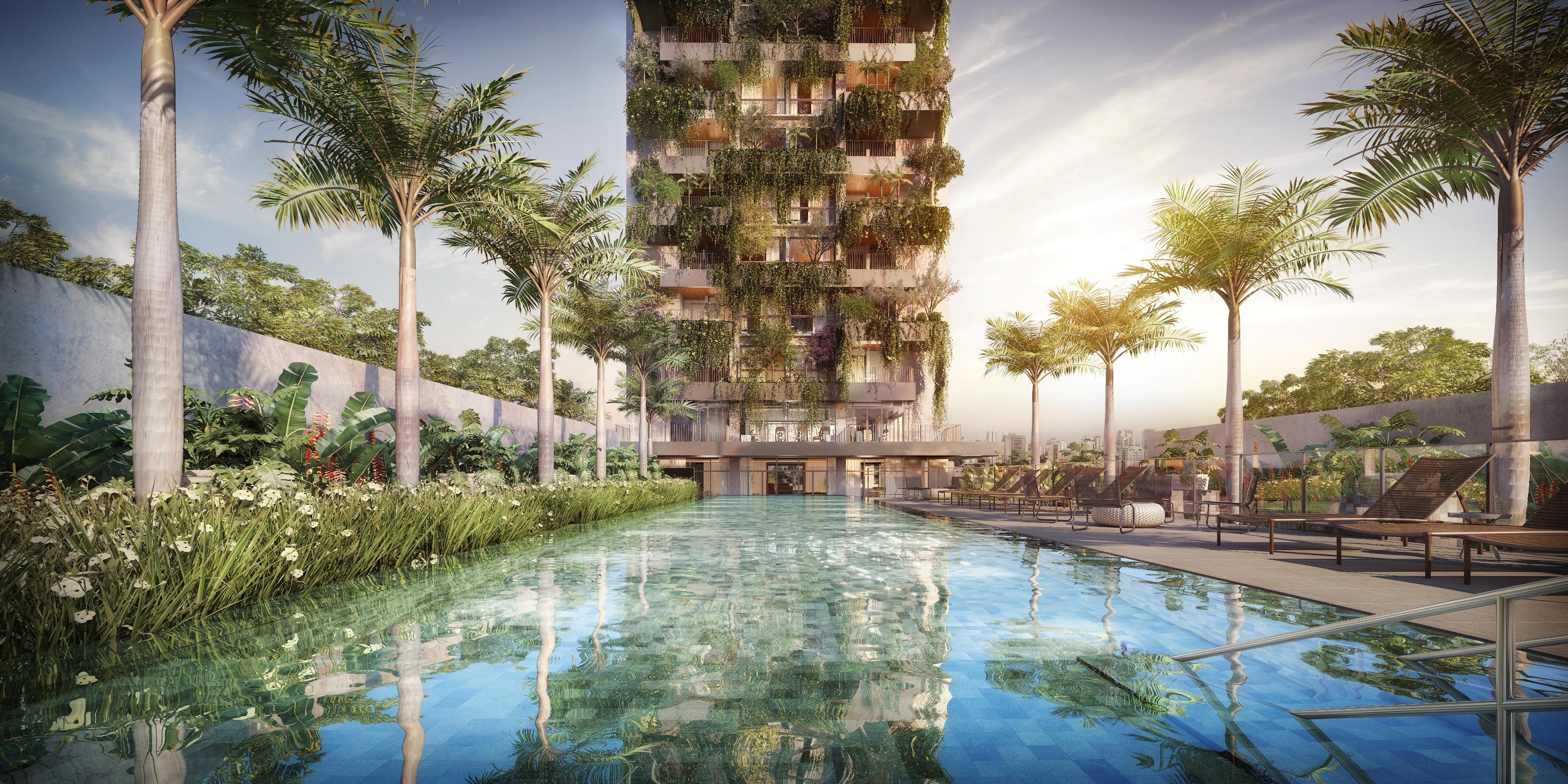 Seed - fachada com piscina - alta