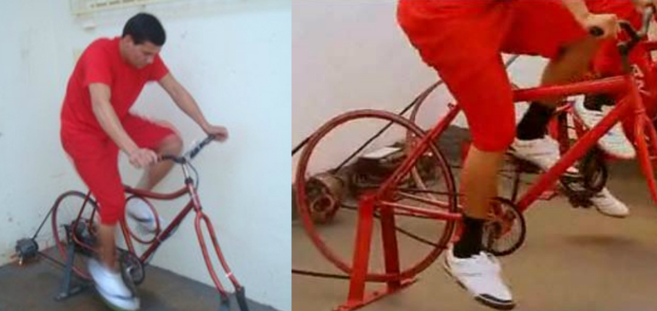 Detentos produzem energia elétrica pedalando em presídio de Minas 1