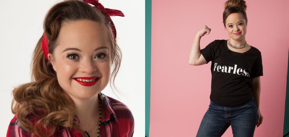 Modelo com síndrome de Down faz história e é novo rosto de marca de produtos de beleza 7