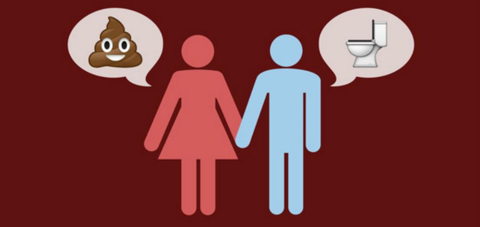 Site afirma que casais que conversam tranquilamente sobre cocô são os mais felizes 1