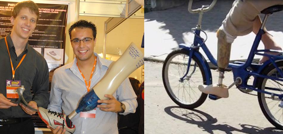Estudante cria prótese 100% brasileira, mais acessível e a partir de garrafas PET 1