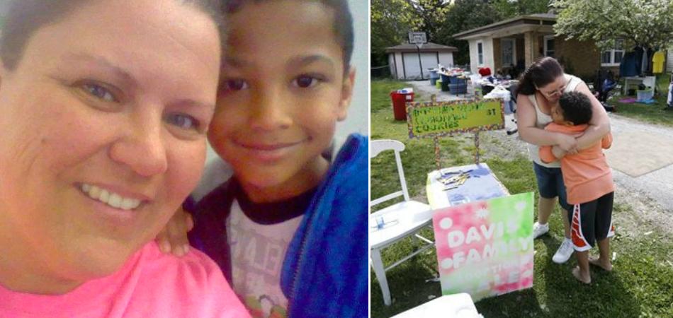 Menino de 9 anos vende limonadas para pagar sua própria adoção 1