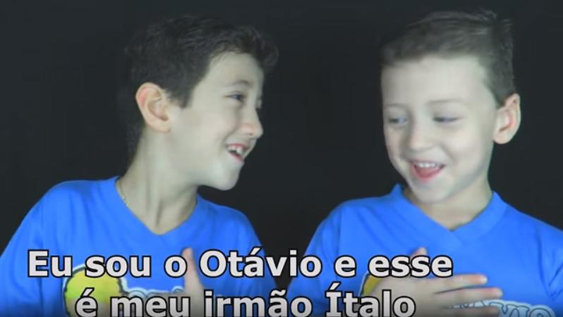 Garotinho faz vídeo para explicar como é a vida do seu irmãozinho autista 1