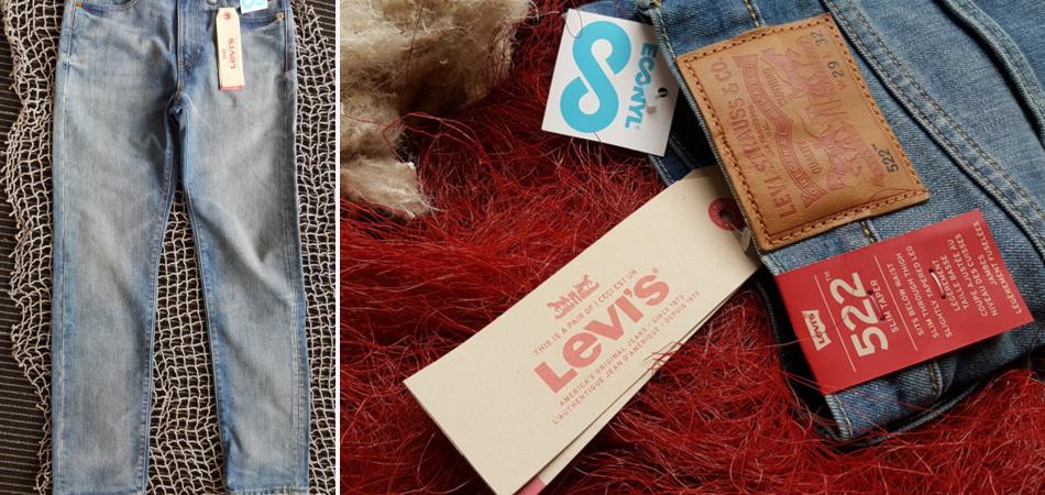 Levi's lança coleção de calças jeans feitas com redes de pesca e carpete 1