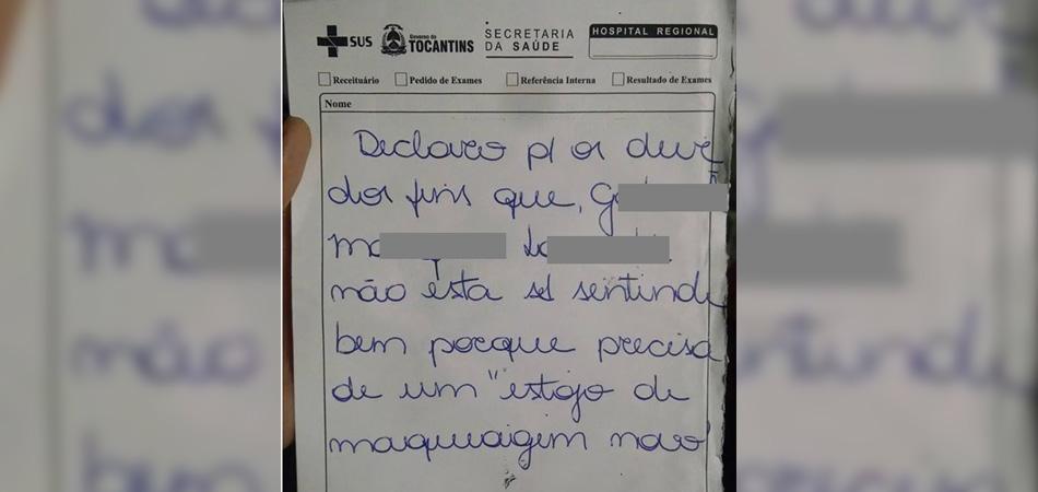 """Médica """"receita"""" estojo de maquiagem para menininha de 3 anos no Tocantins 3"""