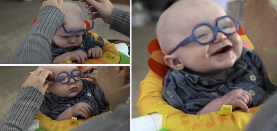 A reação do bebê que vê a mãe pela primeira vez vai derreter seu coração 3
