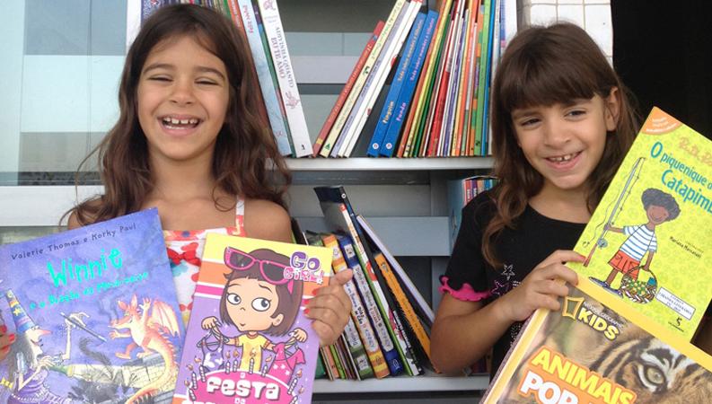 Gêmeas de 7 anos criam canal para divulgar dicas de livros infantis 1