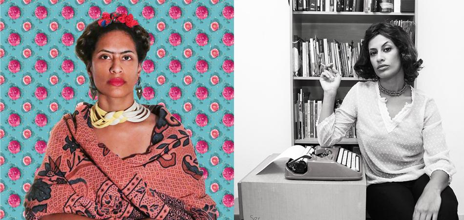 """Fotógrafa faz projeto pessoal retratando """"as mulheres que eu gostaria de ser"""" 2"""