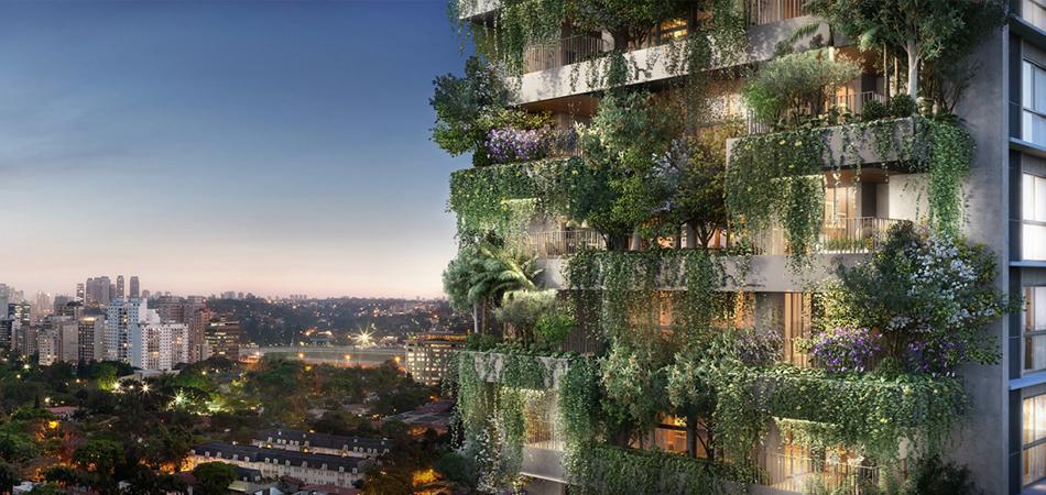 Em meio ao concreto, São Paulo terá o primeiro prédio residencial com Mata atlântica na fachada 1