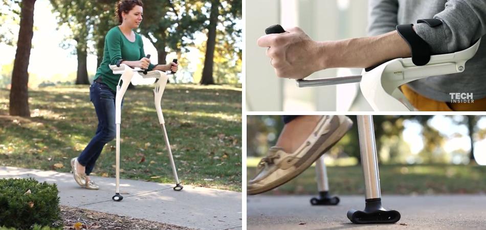 Designers recriam a (ultrapassada) muleta para facilitar a vida de quem as usa 1