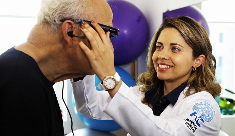 Andador virtual e bengala com laser melhoram a vida de pacientes com Parkinson 1