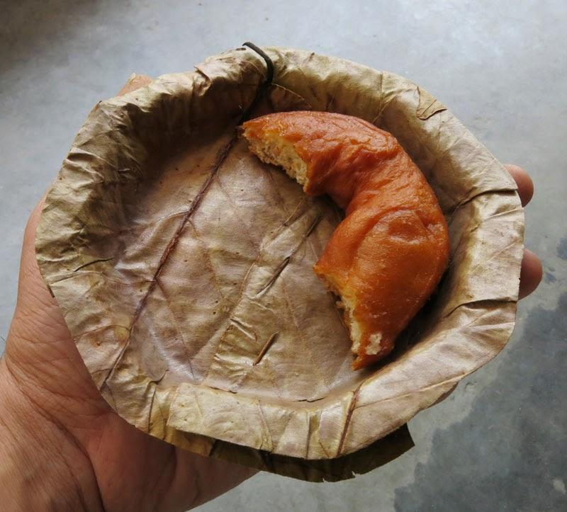 pratos descartáveis feitos de folhas 2