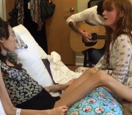 Florence Welch faz apresentação para fã internada no hospital que não pôde ir no show 2