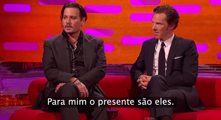Johnny Depp explica o real motivo das suas visitas a hospitais infantis 1