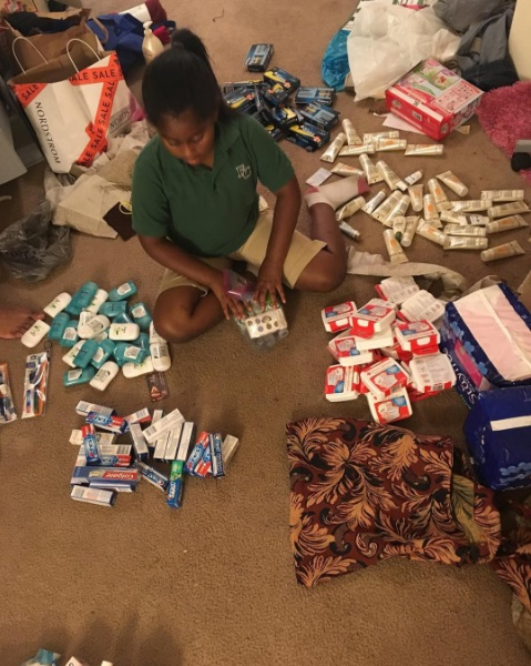 9-Year-Old-Makes-Bags-for-Homeless-People