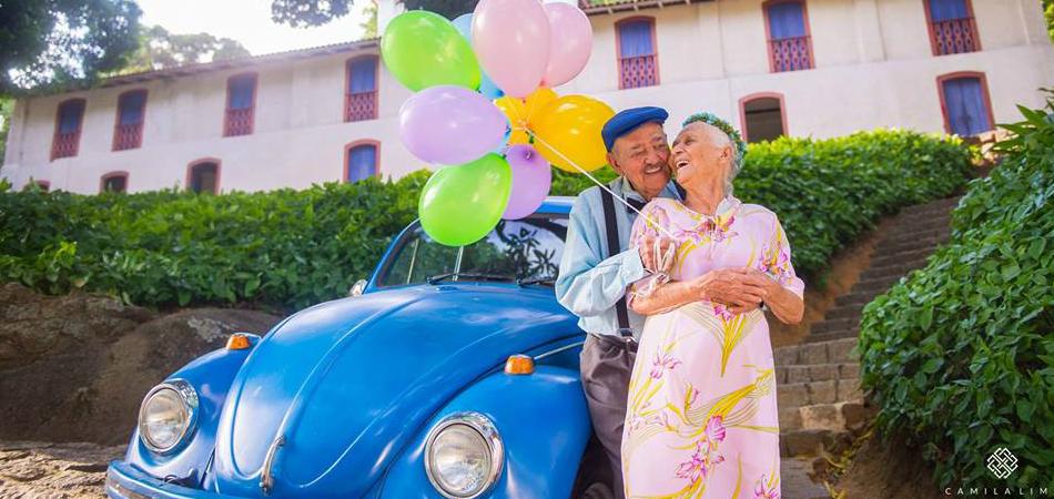 Casal faz ensaio fotógrafico maravilhoso para celebrar 69 anos de casados 2