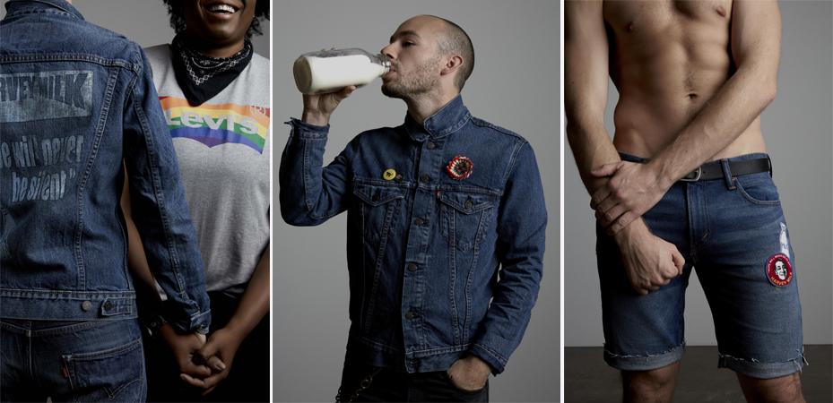 Campanha de coleção LGBT da Levi's é estrelada por funcionários gays da empresa 1