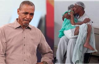 Maqueiro que tranquilizou idosa vai ter a casa reformada pelos colegas do hospital