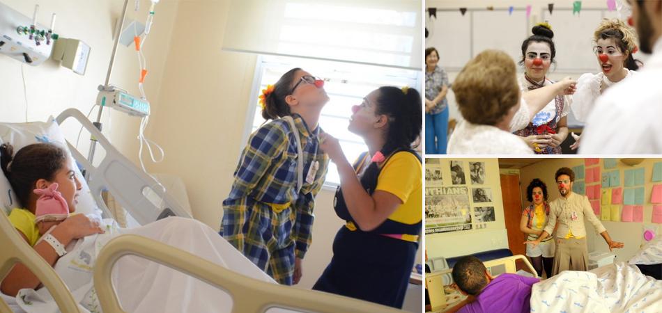 Projeto humaniza a formação de estudantes da área da saúde através da arte do palhaço 1