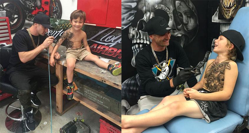Artista faz tatuagens em crianças internadas para melhorar seus dias no hospital 4