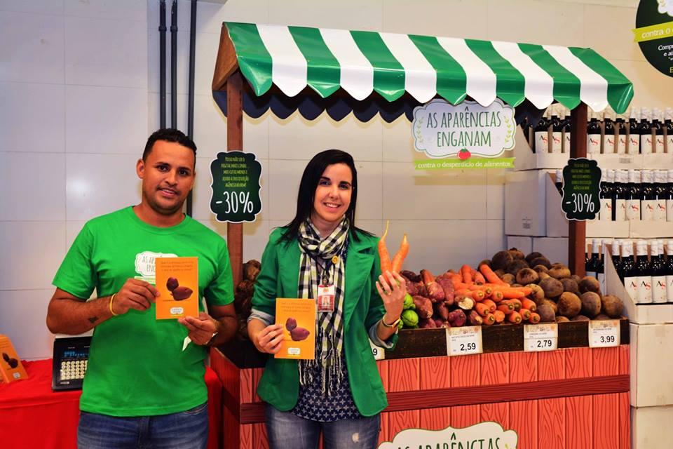 "Supermercado destina 10% das vendas de alimentos ""feios"" para projeto social 1"