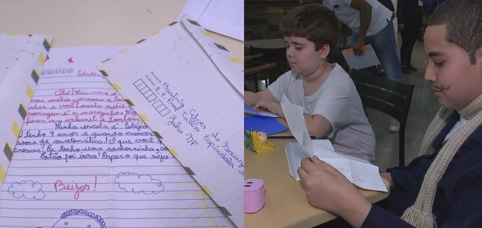 Para estimular alunos a escreverem certo e ler mais, escolas criam projeto de troca de cartas 1