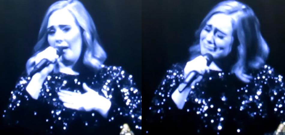 Adele cai no choro ao dedicar show às vítimas da tragédia em Orlando 1