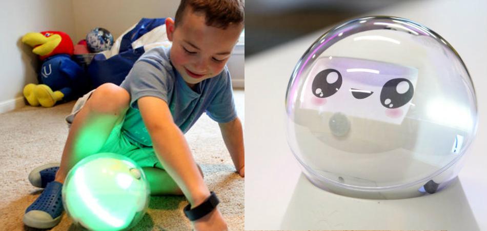 Este robô fofinho foi feito para ajudar crianças autistas 1