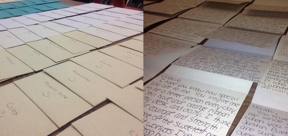 Após aluna tentar suicídio, professora escreve cartas para lembrar seus alunos o quanto eles são especiais 6