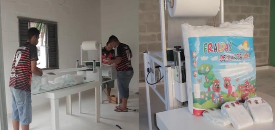 Creche lança projeto que doa fraldas descartáveis para outras instituições 1
