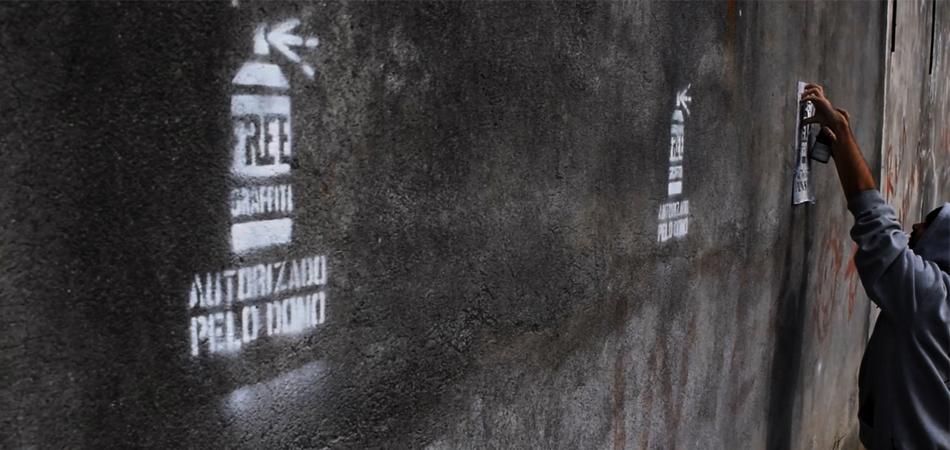 Projeto indica lugares onde é permitido fazer graffiti nas cidades 1