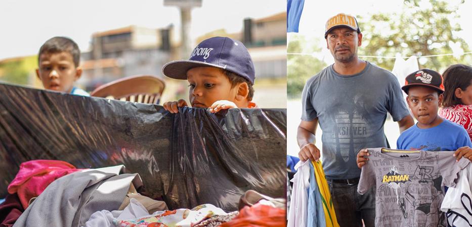 """""""Loja de rua"""" doa roupas e acessórios para pessoas em situação de rua 1"""