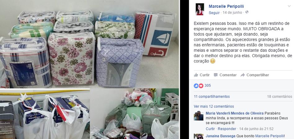 Médica faz campanha para arrecadar aquecedores e cobertas para crianças de hospital em Londrina 3
