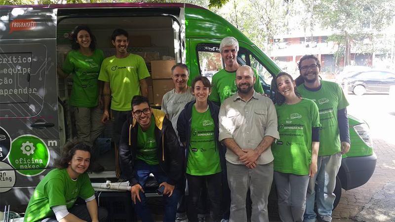 Expedição estimula a aprendizagem criativa em escolas do interior do Brasil 1