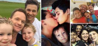 Casais homoafetivos mandam fotos de seus filhos aterrorizados por terem 2 pais ou 2 mães