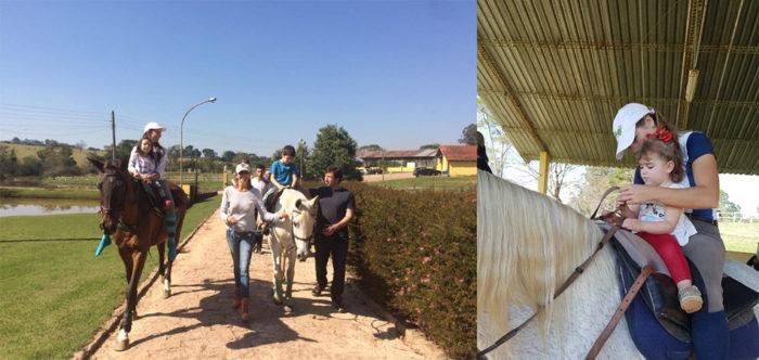 ONG atende crianças autistas usando terapia com cavalos