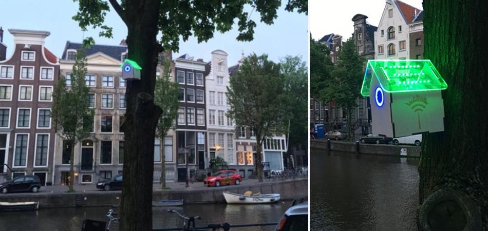 Ar puro na Holanda libera sinais de internet gratuitos e livres 3