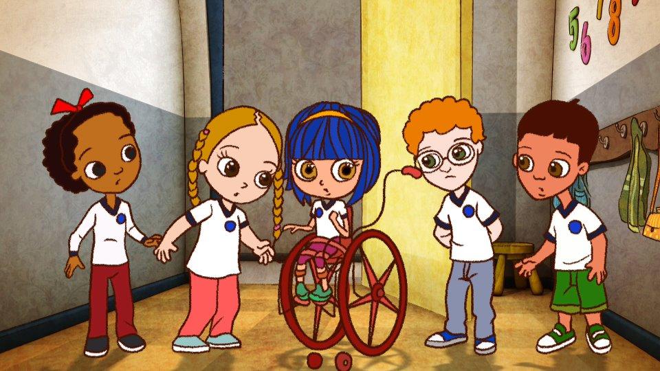 Filme mostra primeiro dia de aula de menina com paralisia cerebral 2